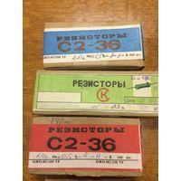 Резисторы С2-36,непаянные,новые(Цена за шт)