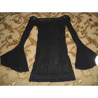 Сексуальное платье с кружевами размер 42-48