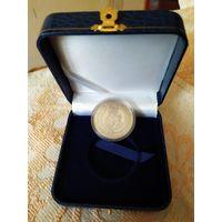 """1 рубль (рубель) """"Мацi Божая Будслауская"""" 2013 года в подарочной коробке."""