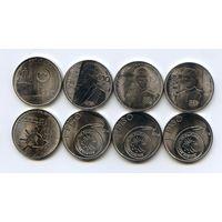 Филиппины НАБОР 4 монеты  1 писо 2016-2017