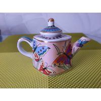 Чайник (мини-чайничек). Фарфор. Коллекционный.