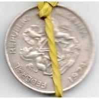 ФЕДЕРАТИВНАЯ РЕСПУБЛИКА НИГЕРИЯ  5 КОБО 1974. БРАК. ПОВОРОТ