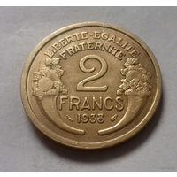 2 франка, Франция 1938 г.