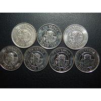 Исландия 1 крона список (цена за монету)