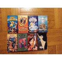 Видеокассеты лицензионные с мультфильмами