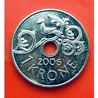 13-18 Норвегия, 1 крона 2006 г.