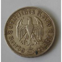 Германия, 5 Марoк 1935 A Серебро (2)