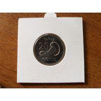 20 центов 2012 г Фиджи