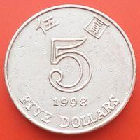 5 долларов 1998 ГОНКОНГ