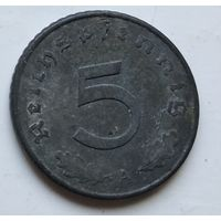 "Германия - Третий рейх 5 рейхспфеннигов, 1941 ""A"" - Берлин 4-10-20"