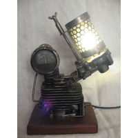 Светильник ночник в стиле дизельпанк стимпанк индастриал лофт (2)