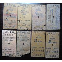 Коллекция билетов