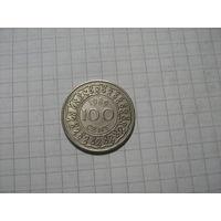 Суринам 100центов1989г.