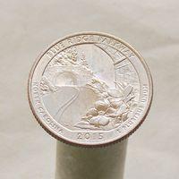 США 25 центов 2015 D Северная Каролина - Автомагистраль Блу-Ридж
