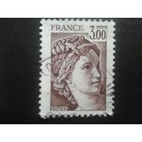 Франция 1978 стандарт 3,00