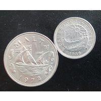 Мальта 10 и 50 центов