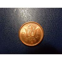 Барбадос 1 цент 2011 г