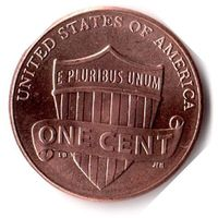США. 1 цент. 2020 г.