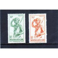 Мадагаскар.Ми-388.Танцовщик. Серия: Люди и животные.(1946)