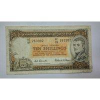 Австралия 10 шиллингов