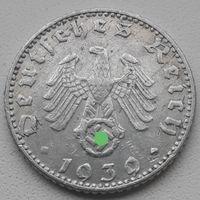 50 рейхспфеннигов 1939 J