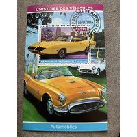 Джибути 2015. Автомобили. Plymouth Road Runner Superbird 1970. Блок