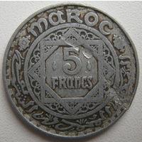 Марокко 5 франков 1951 г. (d)
