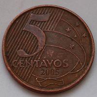 Бразилия, 5 сентаво 2005 г