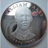 Жетон (медаль) Вильям Фарре. 100 лет школьному корпусу. 2001 год. Норвегия (a)