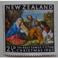 Новая Зеландия.1963.Рождество