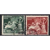 1942 - Рейх - Ювелирное искусство Mi.816-17