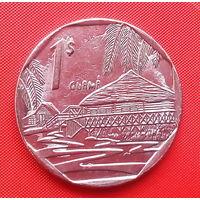 05-17 Куба, 1 песо 2007 г.