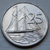 Каймановы острова, 25 центов 2008 г
