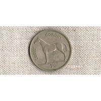 Ирландия 2 шиллинга 6 пенсов  1962 /фауна//(ON)