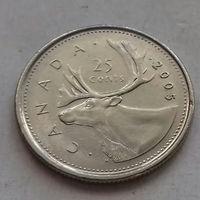 25 центов, Канада 2005 P, AU