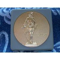 """Медаль """"Петергоф-Петродворец основан в 1714 году. Петр I"""""""
