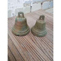 Старинные колокольчики (цена за оба)