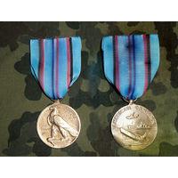 Медаль за морскую войну 1941-45гг. США.Оригинал.