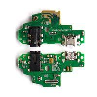 Шлейф для Huawei P Smart плата на системный разъем/разъем гарнитуры/микрофон