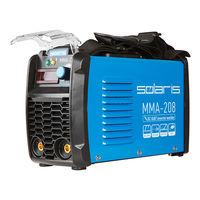 Инвертор сварочный SOLARIS MMA-208 (230В, 20-200 А, электроды диам. 1.6-4.0 мм, вес 3.9 кг)