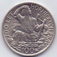 Чехословакия, 100 крон 1949 года.