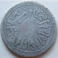 16. Марокко 1/2 д. 1878 год, серебро*
