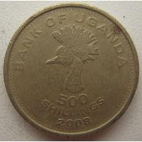 Уганда 500 шиллингов 2008 г. (gl)
