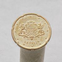 Латвия 20 евроцентов 2014