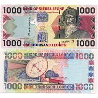 Сьерра Леоне. 1000 леоне (образца 2003 года, P24b, UNC)