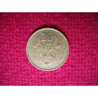 Кипр 10 сентов 1990 г.