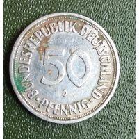 50 пфеннигов 1970     ФРГ