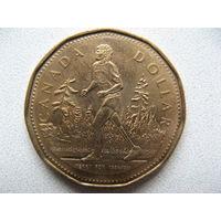 Канада 1 доллар 2005 г. 25 лет Марафону Надежды (юбилейная)
