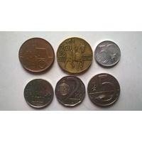 Чехия набор монет