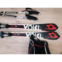 Продам горные лыжи Volkl 163 + Ботинки